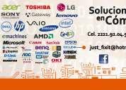 Mantenimiento y venta de equipo de computo