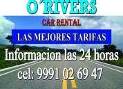 O'rivers car rental merida yucatan