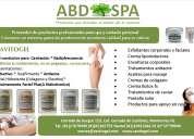 productos profesionales para spa y clínica de belleza abd spa