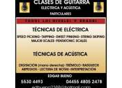 Clases profesionales guitarra electrica y clasica personalizadas