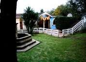 Remato casa, terreno grande y jardin. excelente oportunidad