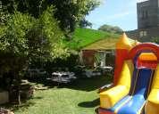 Jardin para eventos infantiles bosque magico