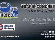Concreto premezclado tsapik