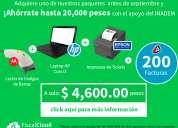 Punto de venta + laptop apoyo de gobierno un 80%