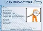 Licenciada en mercadotecnia