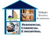Servicios profesionales de electricidad y plomeria. comprometidos con nuestros clientes!!!