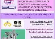 Distribuidor de maquinas procesadoras de alimentos