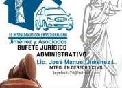 Ofrecemos asesoria juridica y administrativa