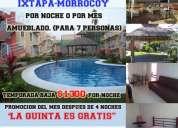 Departamento en ixtapa zihuatanejo