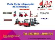 Venta, renta y reparación de montacargas