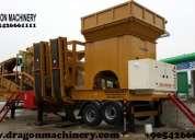 Cribado y lavado mobile plants 617