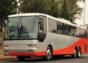 Renta de autobuses y camionetas turísticos
