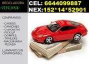 !!compramos carros para la chatarra al mejor precio!!