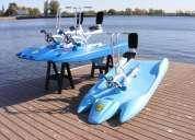 bicicletas acuáticas itbike ideal para clubes de playa, hoteles y negocios de renta