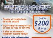 Servicio de ratreo satelital vehicular