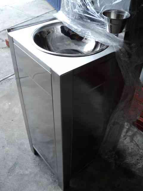 Lavabo portatil autonomo de acero inoxidable 0453312647143 azcapotzalco otras ventas - Lavabo portatil ...