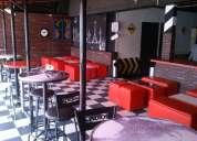 Renta de terraza para eventos y cumpleaños, de lunes a jueves $5,000 mobiliario, meseros,rockola