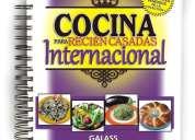 Libro de cocina internacional