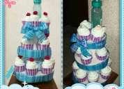 Tender diaper - cupcakes de pañales - figuras con pañales