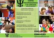 Terapia de lenguaje, aprendizaje y modificación de conducta a niños