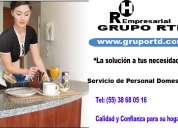 Buscas personal para el cuidado de tu hogar rtd te da la soluciÓn llamanos