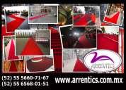 Alquiler de alfombra roja