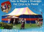 Increíble función de circo en tu evento