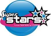 Sonido super stars. audio, iluminaciòn y video