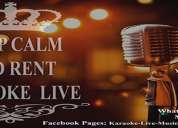Renta de equipo de karaoke profesional