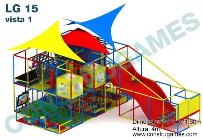 Juegos infantiles para restaurantes salones de fiestas los - Juegos infantiles para jardin de fiestas ...