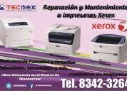 Reparación de impresoras xerox en monterrey