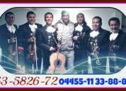 Alaquiler y renta de mariachis al 53582672 serenatas urgentes