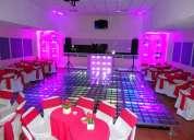 Salas lounge para eventos (azcapotzalco d.f.)