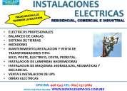 Reparaciones electricas residencial, comercial, indusltria